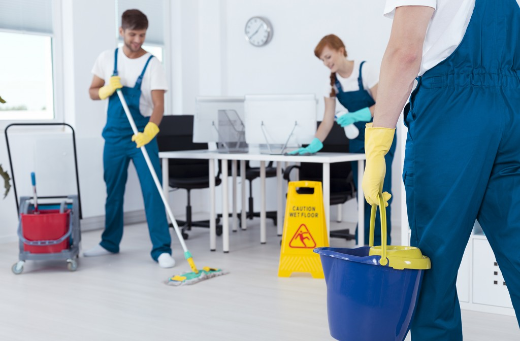 Organisation, méthodes et déroulement du nettoyage de bureaux