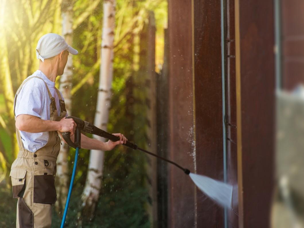 Techniques pour nettoyer la façade de la maison