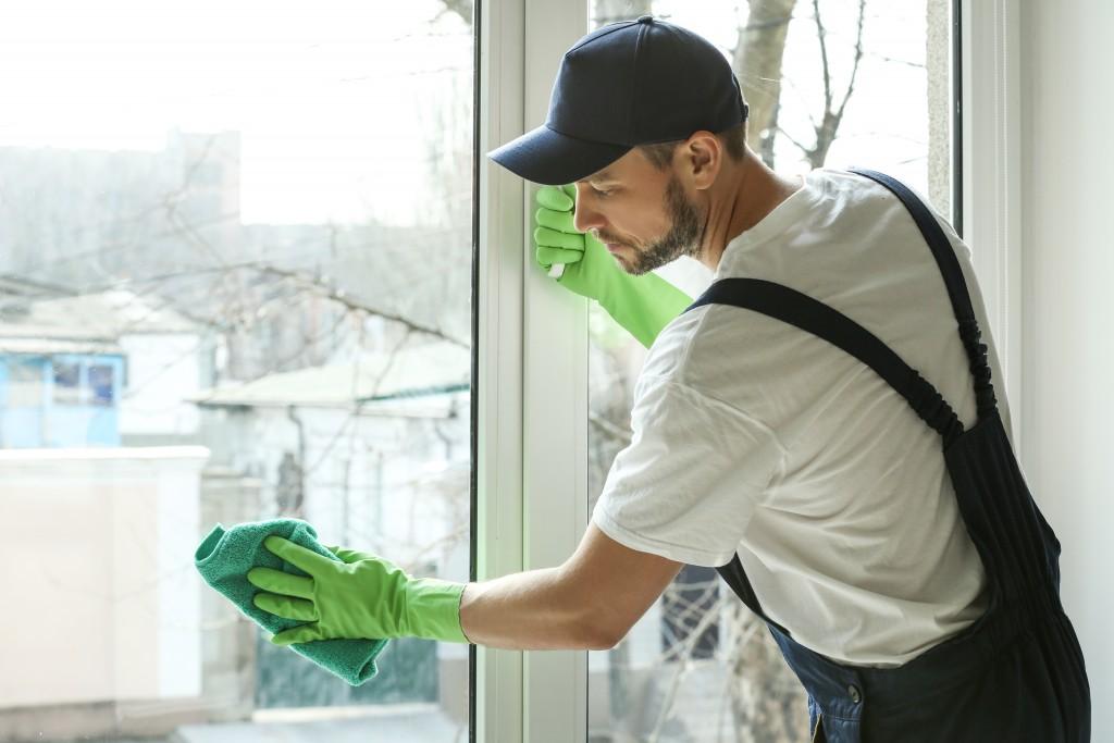 Nettoyage et vide maison